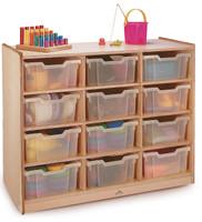 12 Tray Storage Cabinet