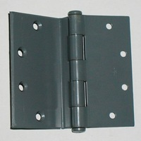"Door Hinge. Half Surface, Mortise into Jamb. Plain Bearing. 5"" x 5"". #3301HSg5"