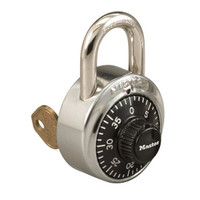 Master Lock 1525 Combination Padlock. Key Series V647. Control Keyed