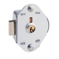 Master Lock 1710 Built-In Flat Locker Lock. Deadbolt action. NOT Control Keyed.