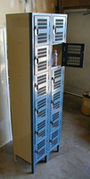 "New 6 Tier Box Lockers. Republic Powder Coated Steel. 12"" x 15"" x 12"". #1215126T"