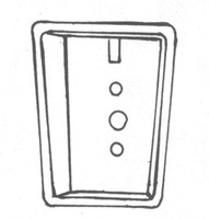 List / Superior Locker Recessed Handle Pocket. #82001