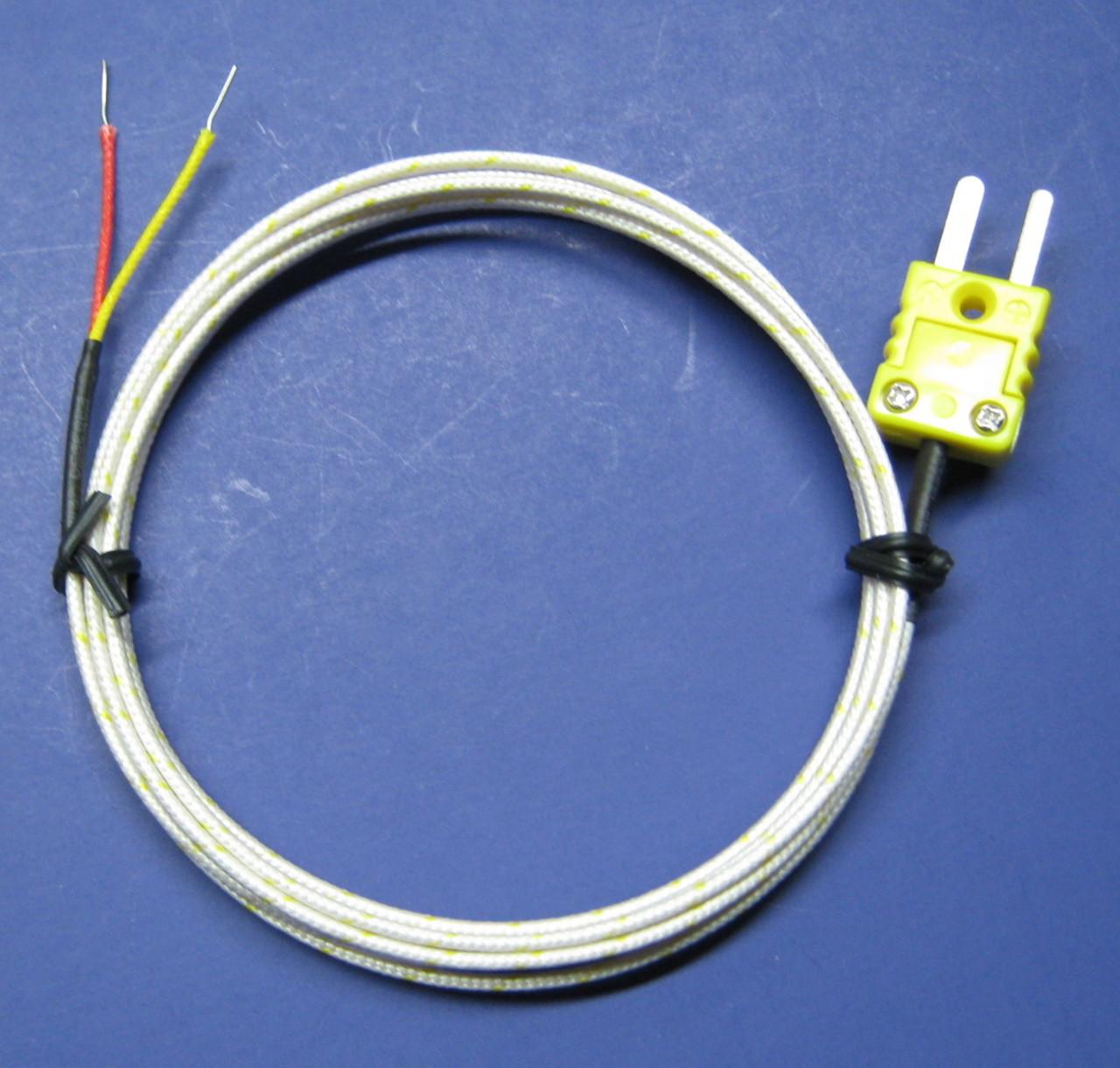 type k thermocouple hookup