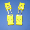 K-type thermocouple connectors, set of 2