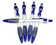 5-pack of Histiocytosis Awareness pens