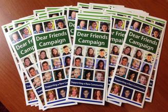 Dear Friends Campaign Brochures 2017 (10 pk)