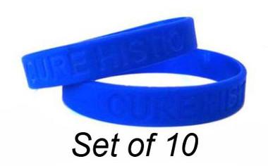 Histio Awareness Bracelets - Set of 10