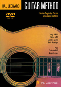 Hal Leonard Guitar Method DVD