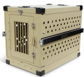 IATA CR82 Dog Crate Aluminum Pet Travel Crate