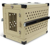 IATA CR82 Dog Crate Aluminum Pet Travel Crate Xlarge