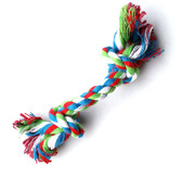 Rope knot Puppy Toy - Blue