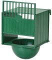 External luxury green bird nest