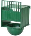 External luxury green bird nest