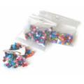 Multi-coloured Plastic Rings