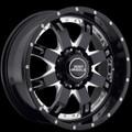 BMF Wheels R.E.P.R. 20X9 Death Metal Black