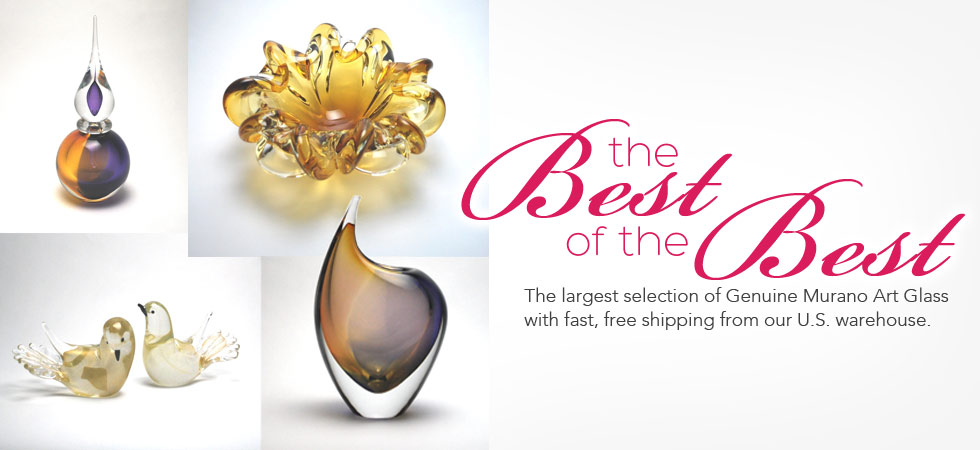Best of the Best Murano Glass