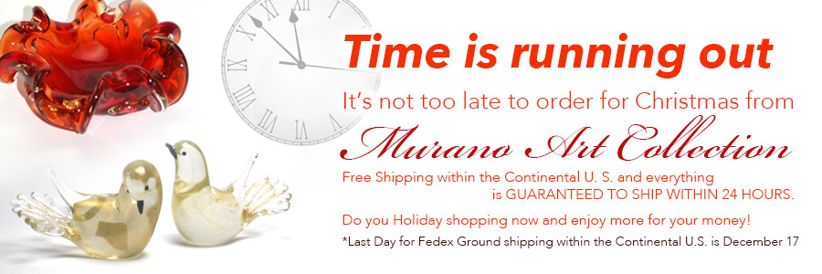 Last Chance for Christmas Shipping