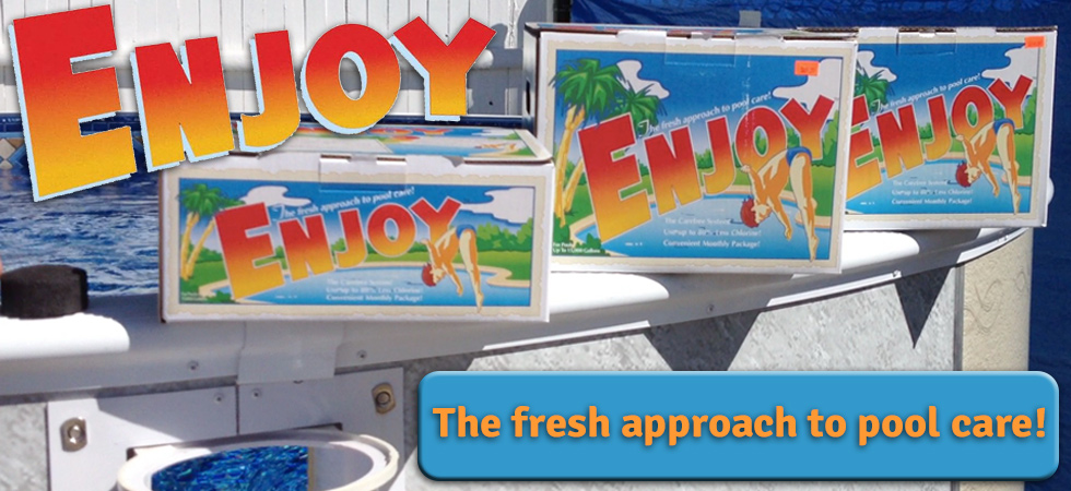 Enjoy swimming pool chemicals. We sell and ship Enjoy. Call us Today!