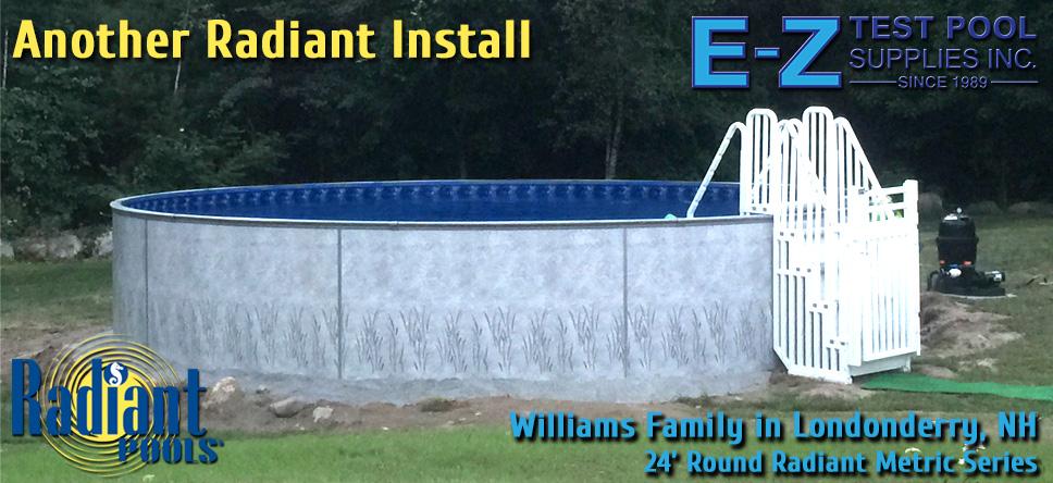 Radiant Metric Series Swimming Pool dealer sales installer