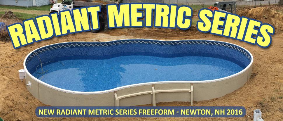 Radiant Metric Series Swimming Pool for Sale