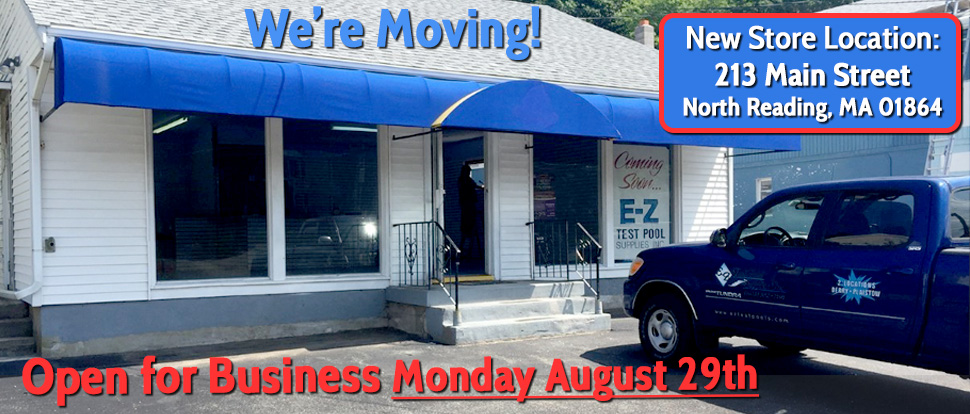North Reading Store Location is Moving to 213 Main Street in North Reading, MA 01864