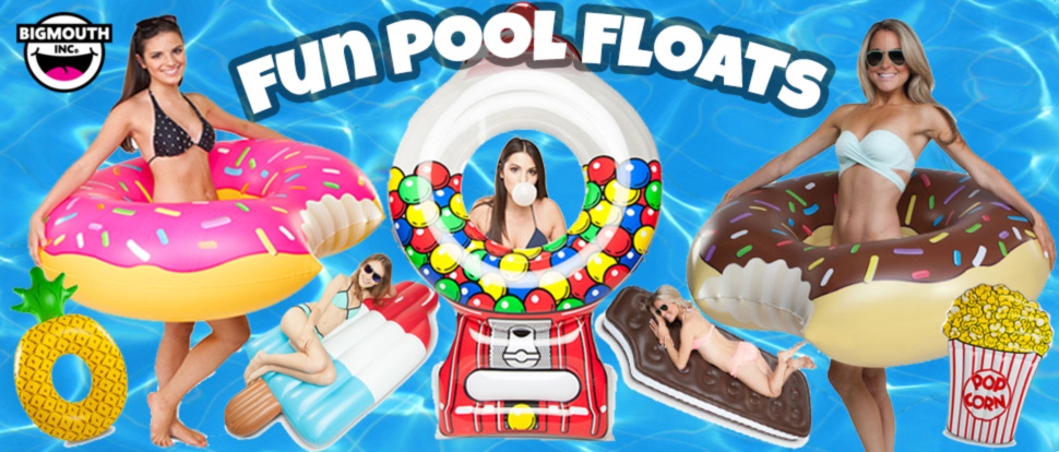 Fun Pool Floats and Toys available for sale at E-Z Test Pool Supplies, Inc. Buy Online or In Store.