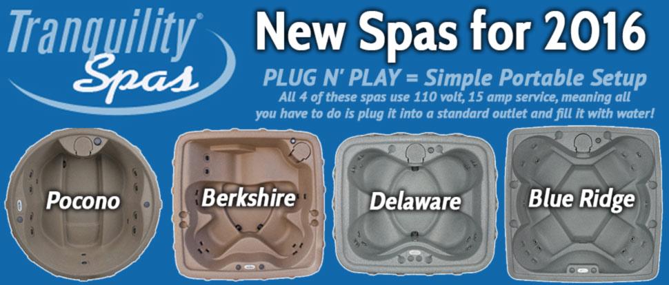 New Spas for Sale, portable hot tub spas.