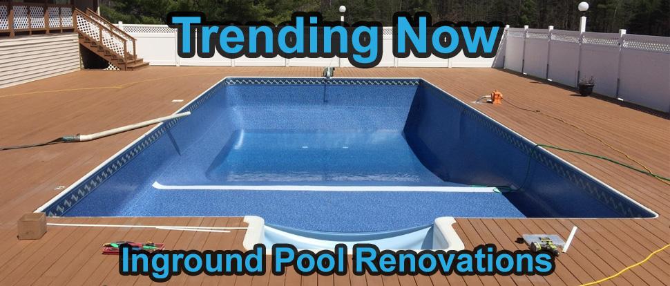 Inground Pool Renovations by E-Z Test Pool Supplies, Inc