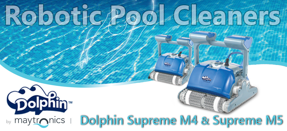 Pool Cleaners for Sale Dolphin Supreme M4 M5 by Maytronics