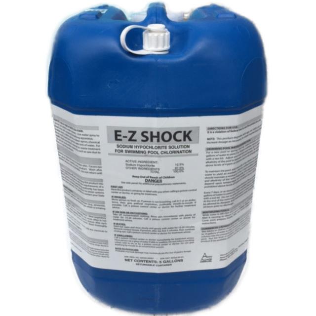 Liquid Shock 5 Gallon E Z Test Pool Supplies Inc