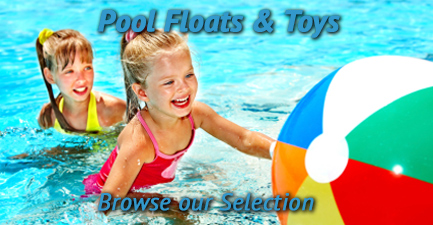 Pool Floats, Toys and Games at E-Z Test Pool Supplies, Inc
