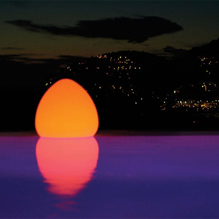 chill-lite-kokoon plastic led pool light that floats