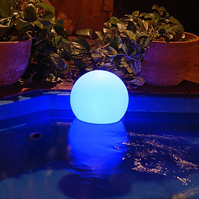 13121 Chill Lite Bubble Waterproof Color Changing Light