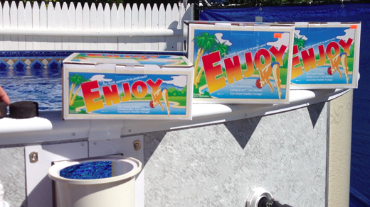 enjoy pool chemicals for swimming pools