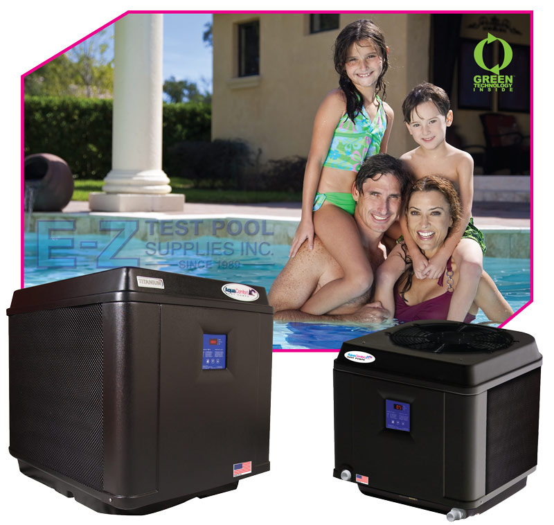 Swimming Pool Heat Pumps, Pool Heaters by Aqua Comfort
