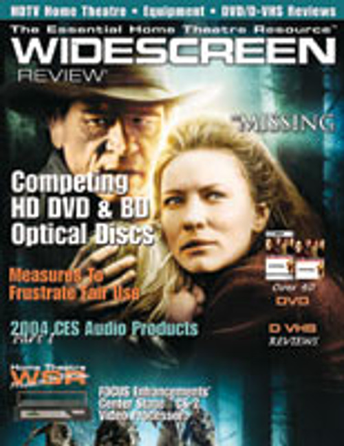 Widescreen Review Issue 083 - The Missing (April 2004)