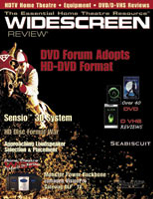Widescreen Review Issue 081 - Seabiscuit (February 2004)