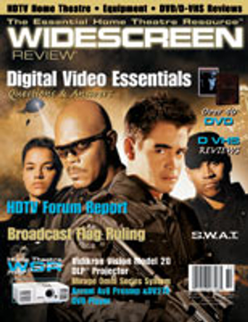 Widescreen Review Issue 080 - S.W.A.T. (January 2004)