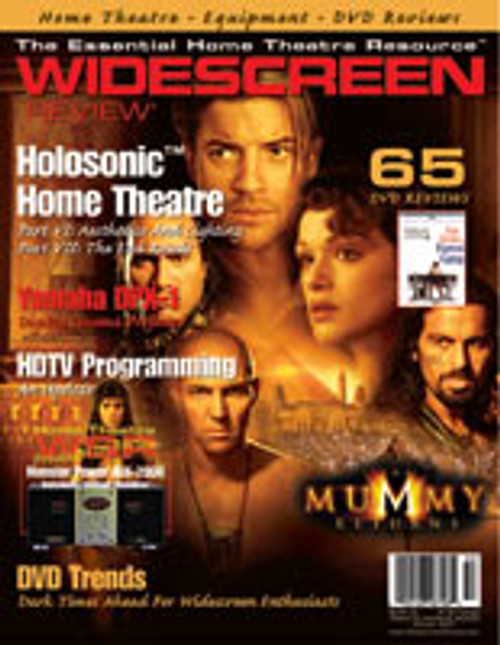Widescreen Review Issue 053 - The Mummy Returns (October 2001)