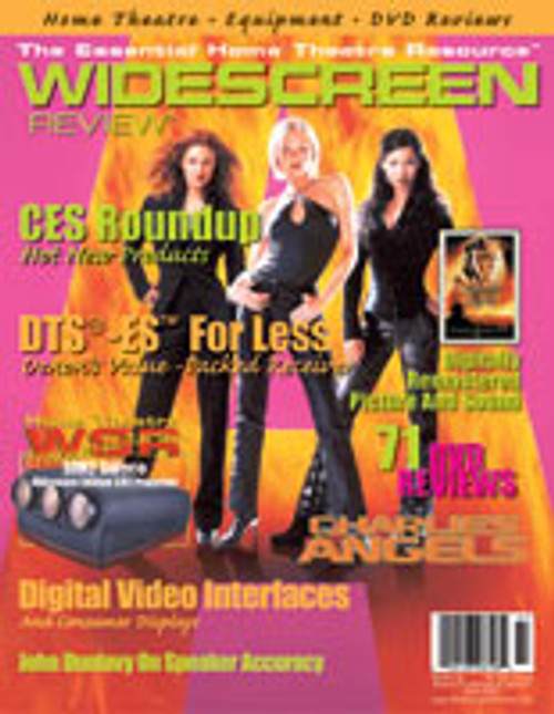 Widescreen Review Issue 047 - Charlie's Angels (March 2001)