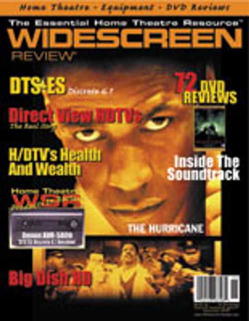 Widescreen Review Issue 041 - The Hurricane (September 2000)