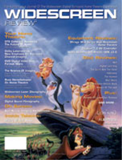 Widescreen Review Issue 016 - Lion King (September/October 1995)
