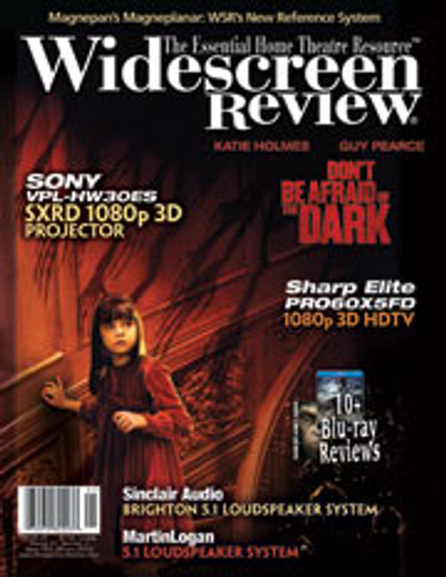 Widescreen Review Issue 163 - Don't Be Afraid Of The Dark (January 2012)
