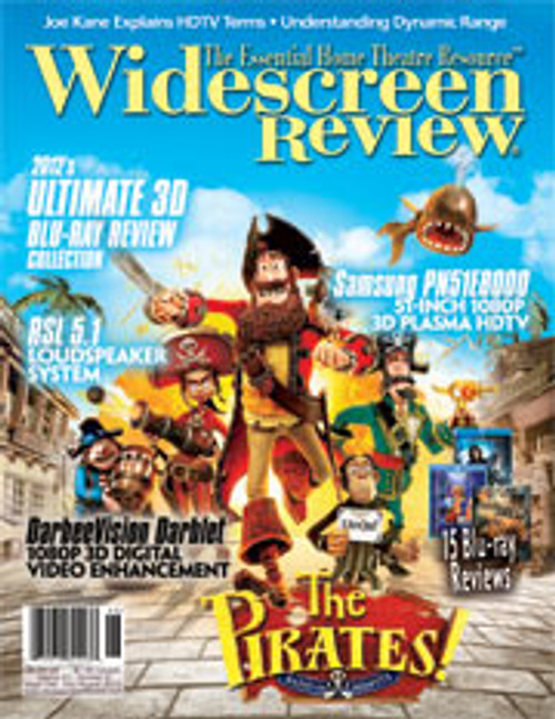 Widescreen Review Issue 168 - The Pirates (July/August 2012)