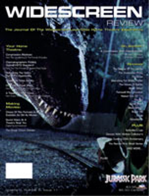 Widescreen Review Issue 011 - Jurassic Park (October/November/December 1994)