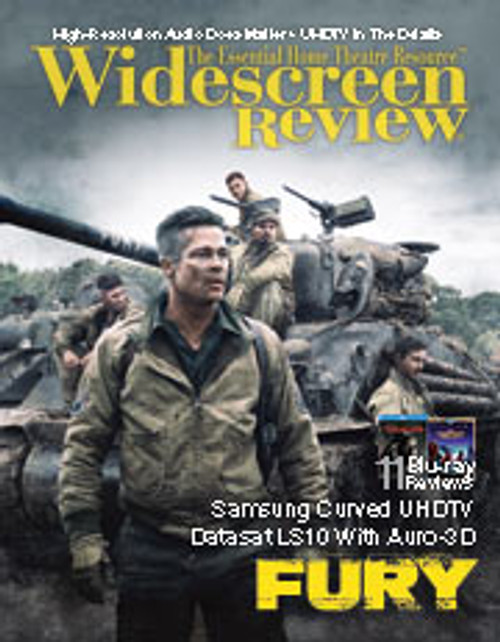 Widescreen Review Issue 193 - Fury (January 2015)