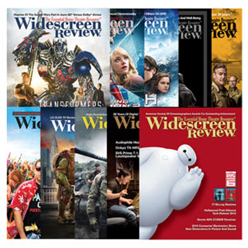 Widescreen Review Subscription 2 Years (Webzine Only)