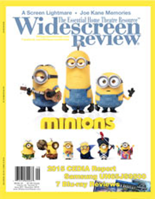 Widescreen Review Issue 201 - Minions (November 2015)