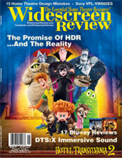 Widescreen Review Issue 203 - Hotel Transylvania 2 (January 2016)