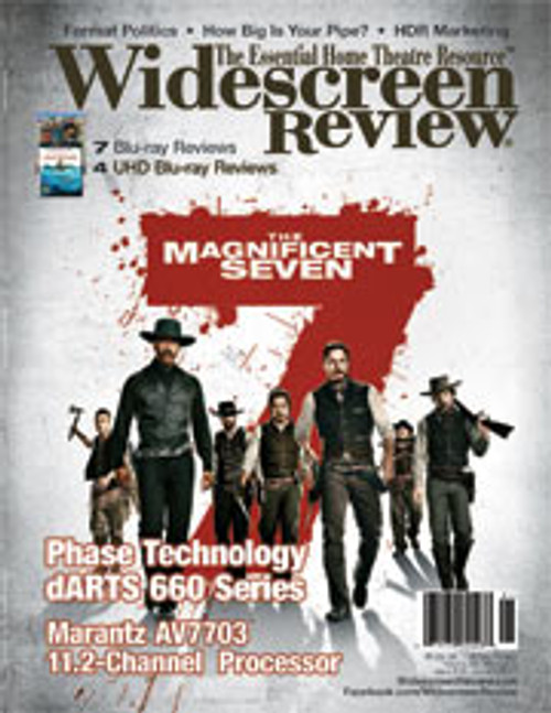Widescreen Review Issue 213 - The Magnificent Seven (January 2017)